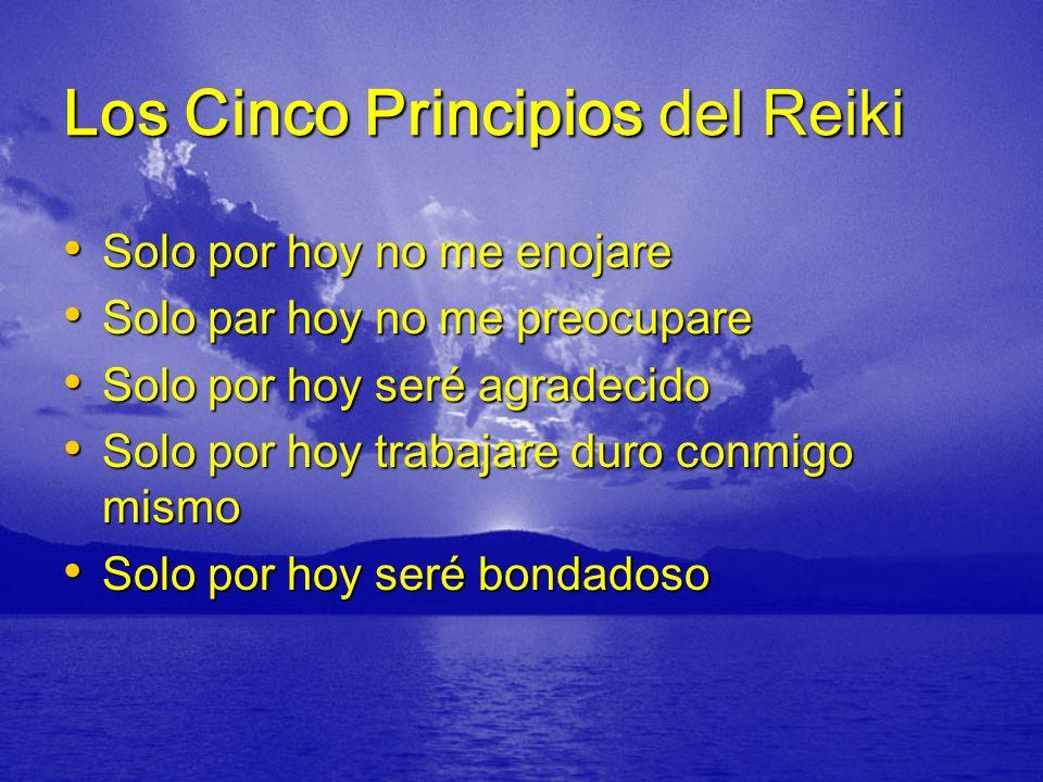 Los Cinco Principios del Reiki