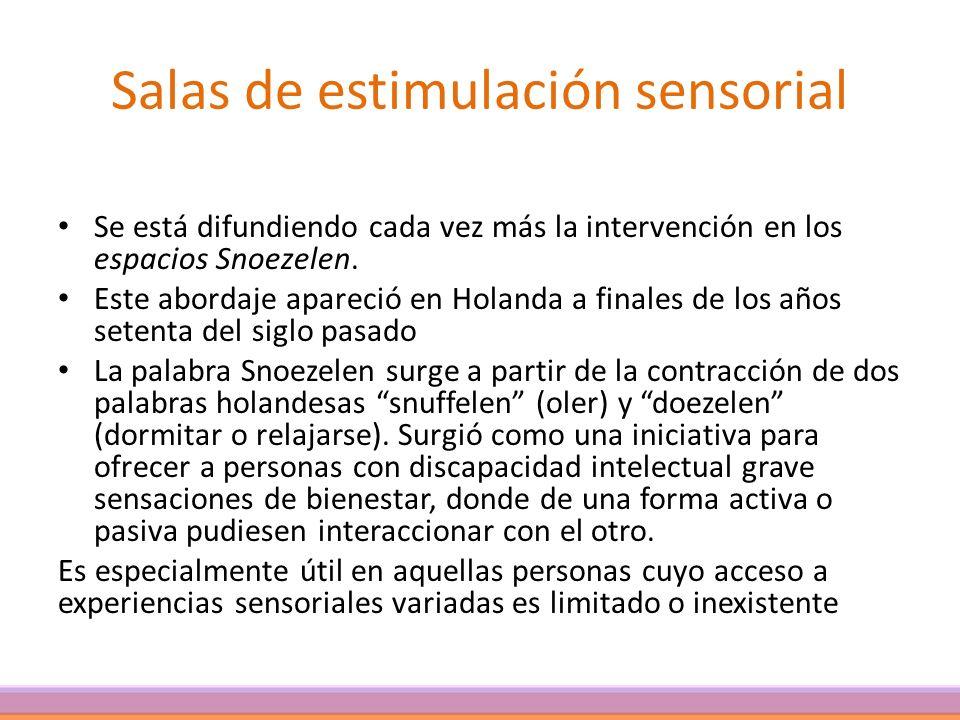 Salas de estimulación sensorial