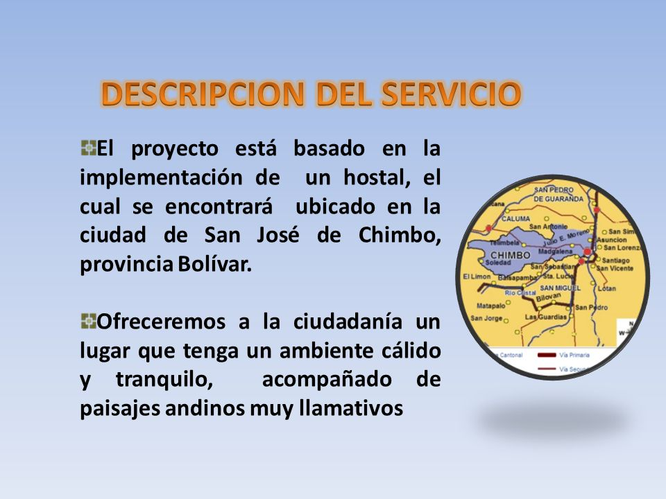 DESCRIPCION DEL SERVICIO