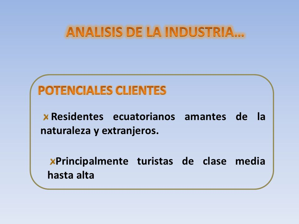 ANALISIS DE LA INDUSTRIA…