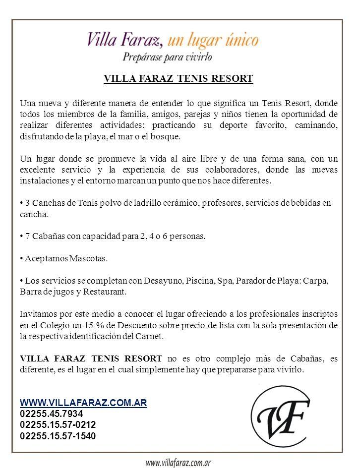 VILLA FARAZ TENIS RESORT