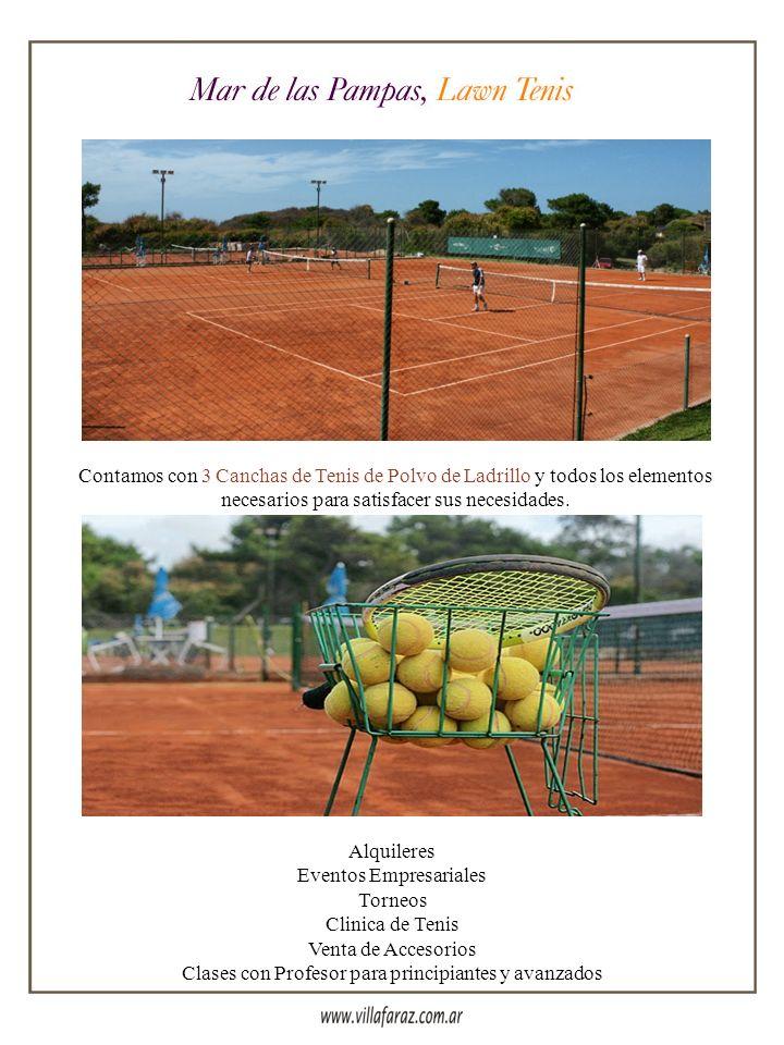 Eventos Empresariales Torneos Clinica de Tenis Venta de Accesorios