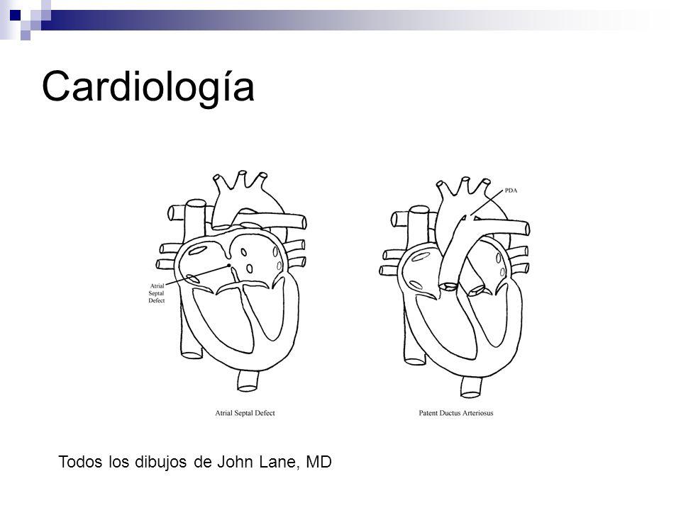 Cardiología Todos los dibujos de John Lane, MD