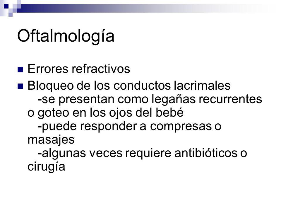 Oftalmología Errores refractivos
