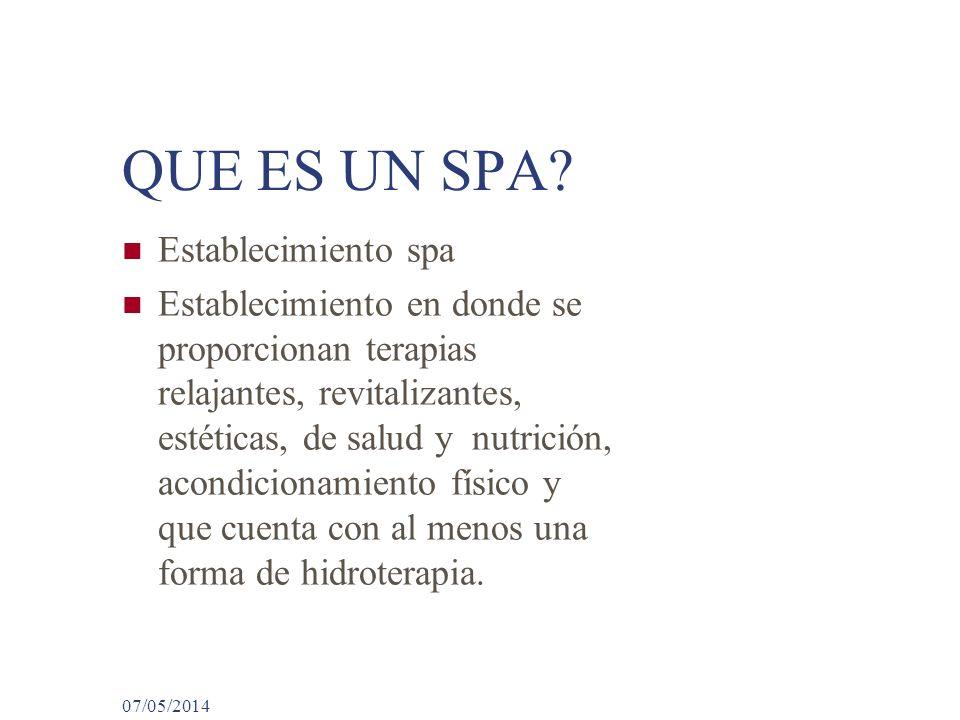 El negocio del spa su evolucion y futuro en el mundo ppt - Que es un spa ...