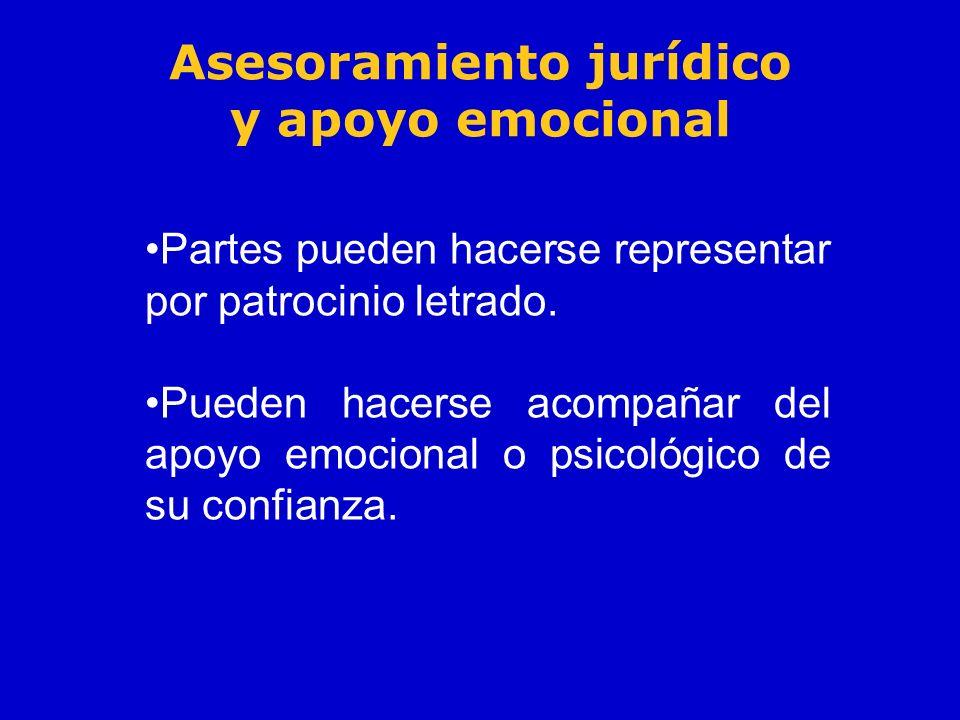Asesoramiento jurídico y apoyo emocional