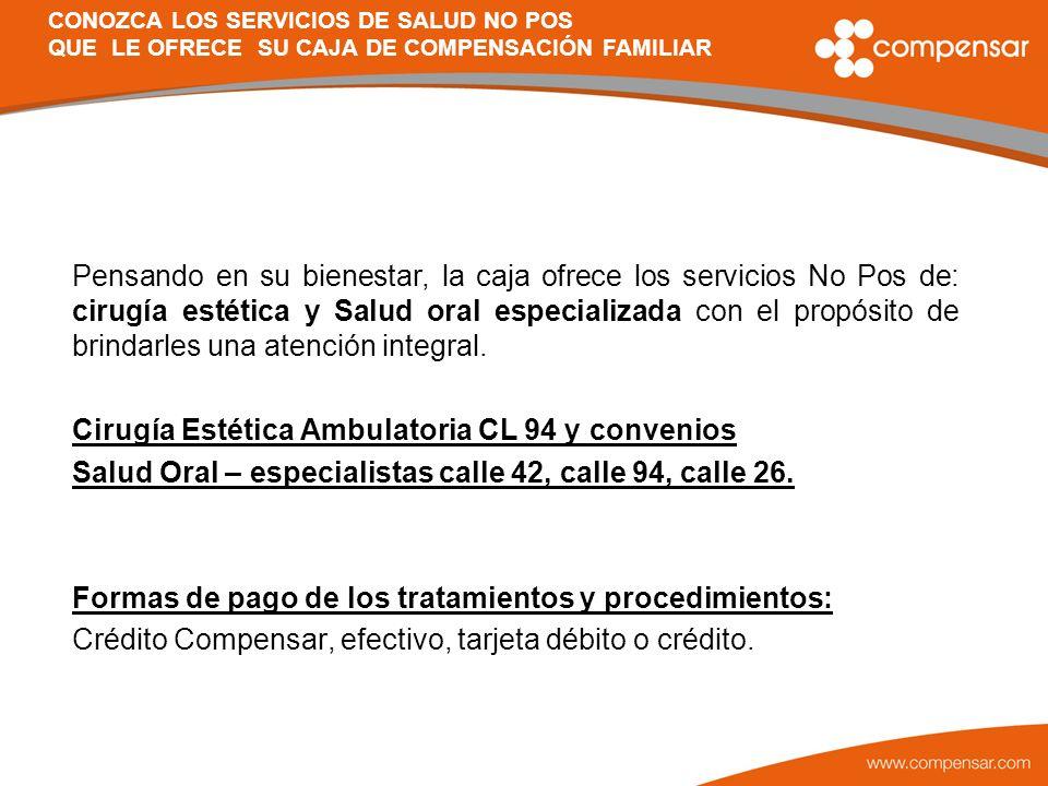 Cirugía Estética Ambulatoria CL 94 y convenios