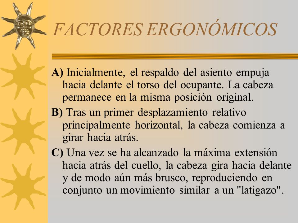 FACTORES ERGONÓMICOS