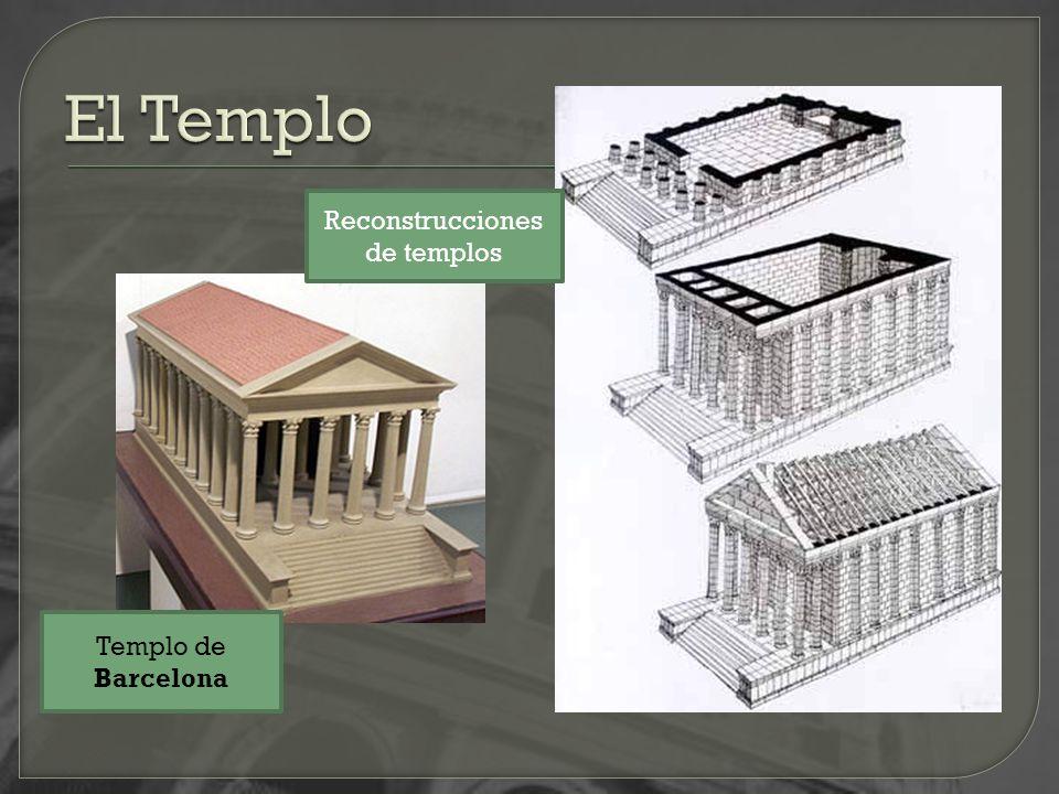 Reconstrucciones de templos