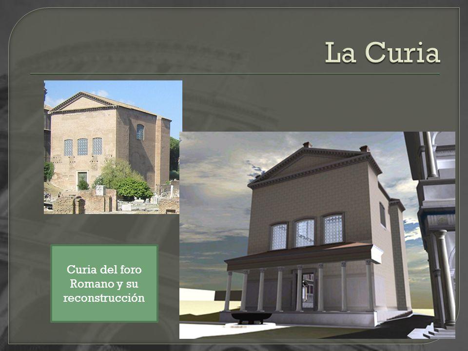 La Curia Curia del foro Romano y su reconstrucción