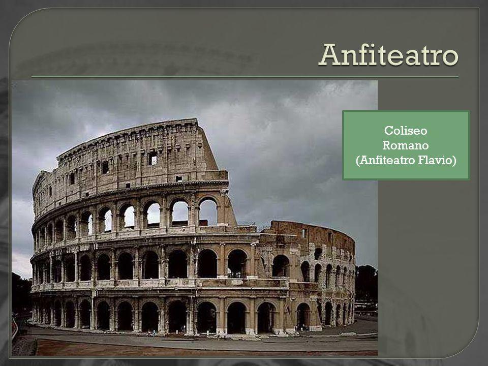 Anfiteatro Coliseo Romano (Anfiteatro Flavio)