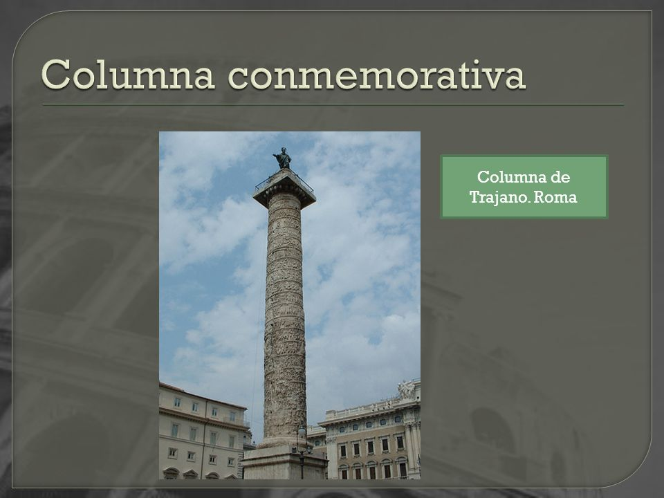 Columna conmemorativa