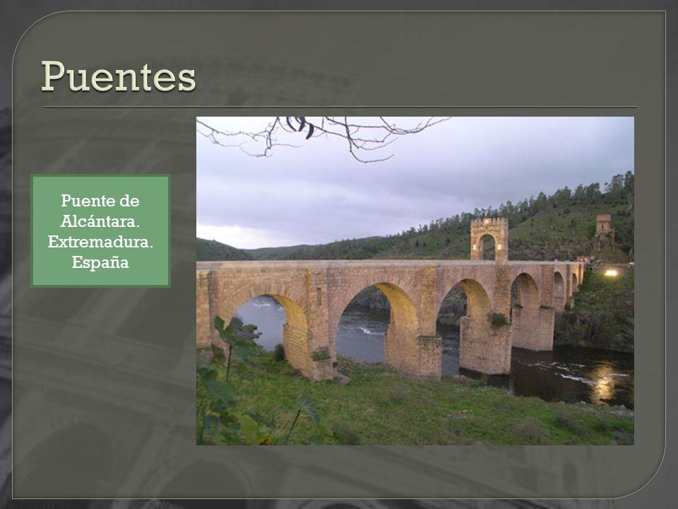 Puentes Puente de Alcántara. Extremadura. España