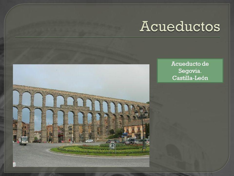 Acueductos Acueducto de Segovia. Castilla-León