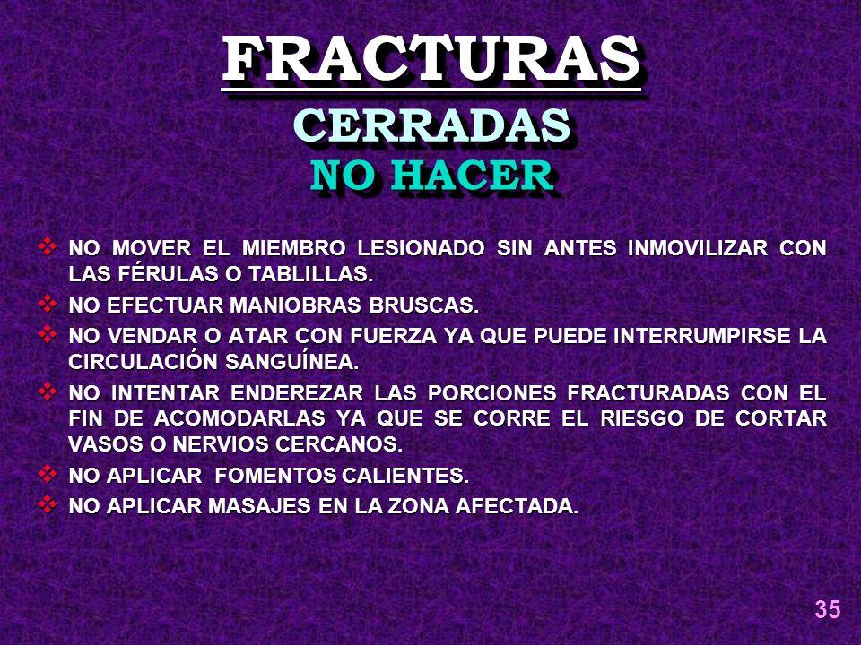 FRACTURAS CERRADAS NO HACER 35