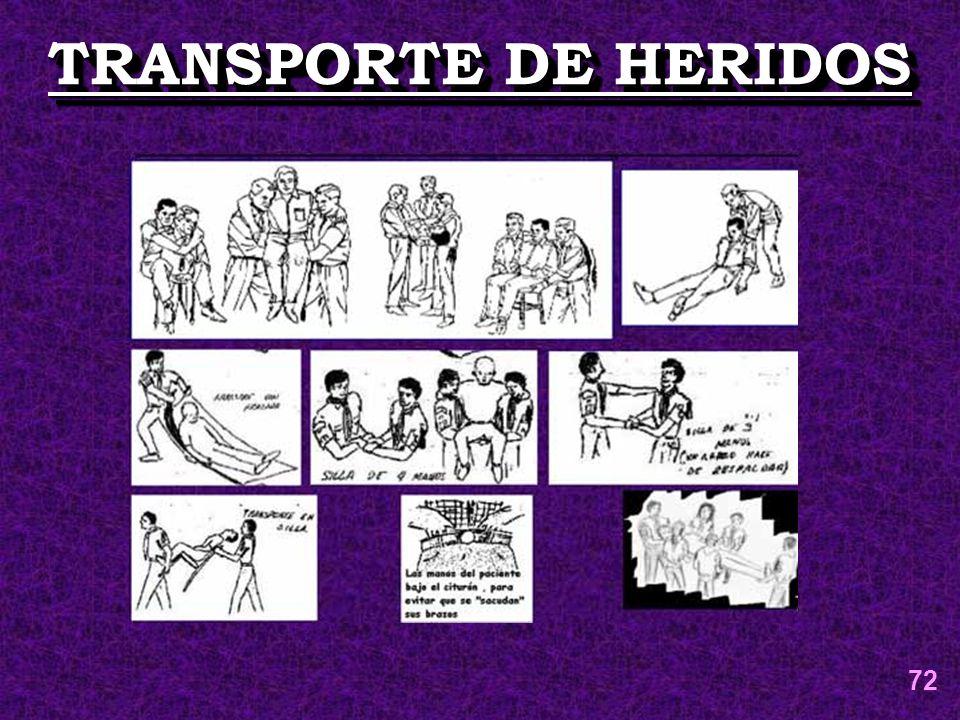 TRANSPORTE DE HERIDOS 72