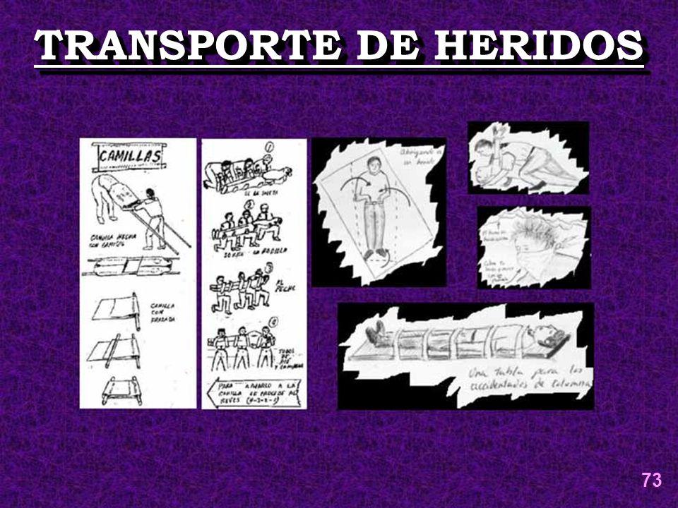 TRANSPORTE DE HERIDOS 73