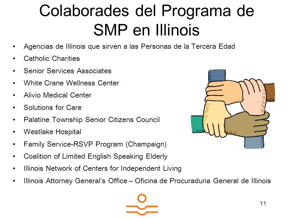Colaborades del Programa de SMP en Illinois