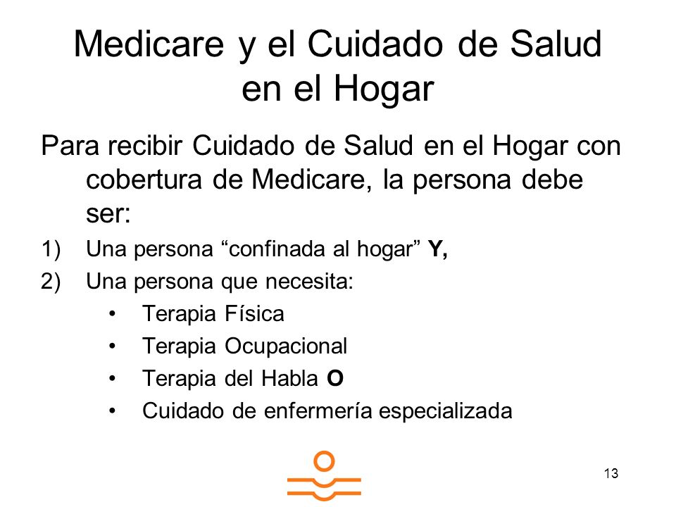 Medicare y el Cuidado de Salud en el Hogar