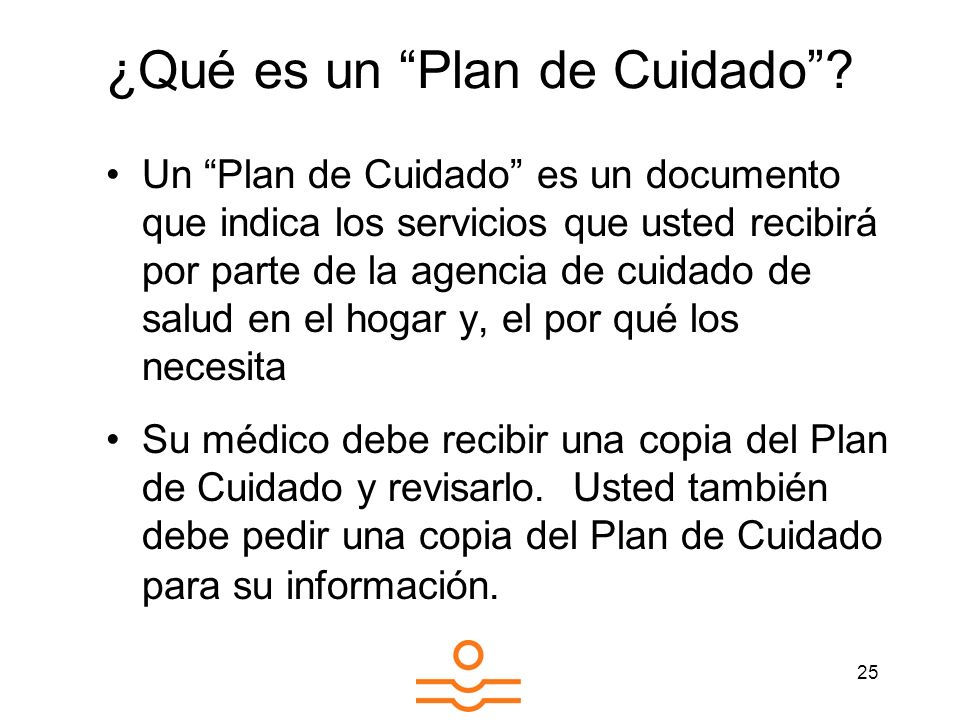 ¿Qué es un Plan de Cuidado