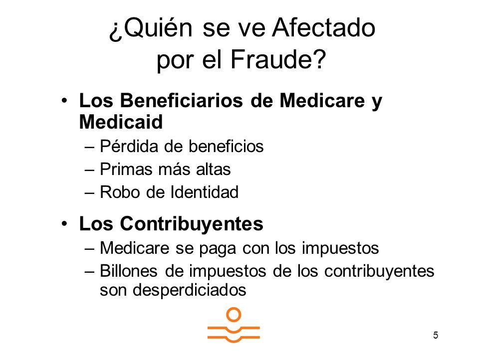 ¿Quién se ve Afectado por el Fraude