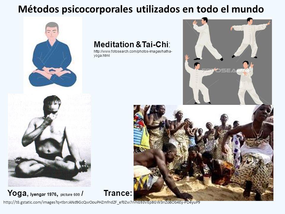 Métodos psicocorporales utilizados en todo el mundo