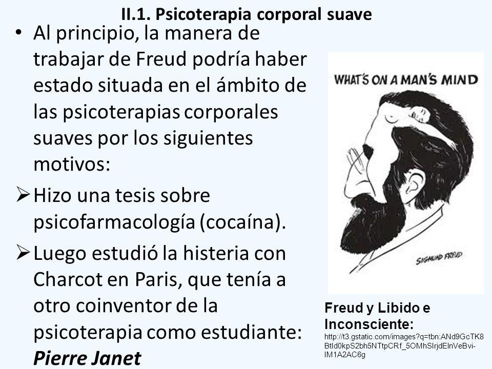 II.1. Psicoterapia corporal suave