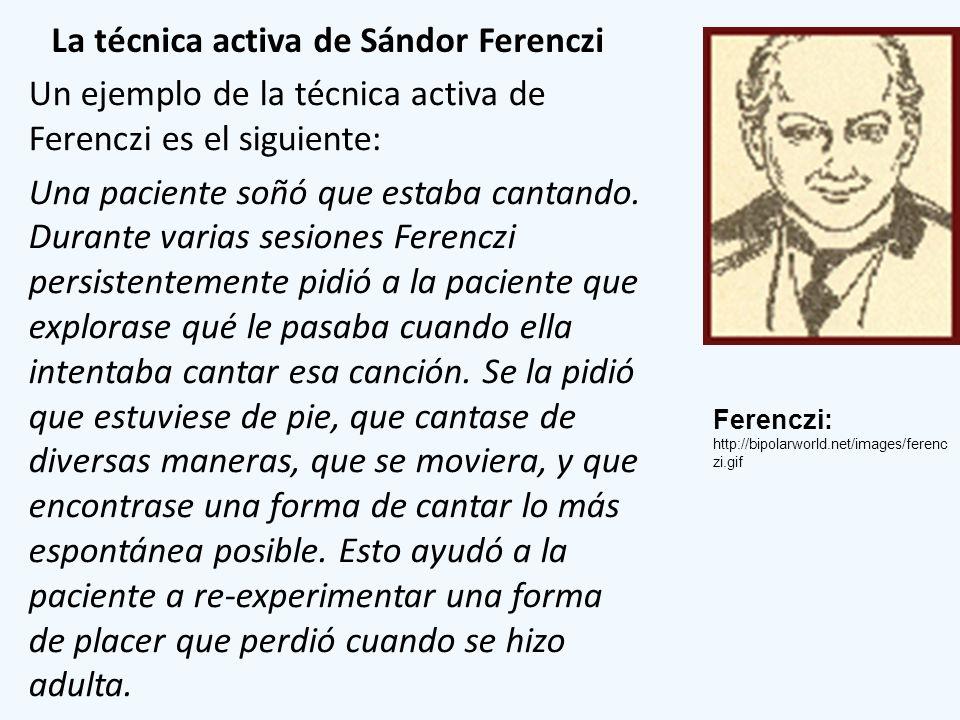 La técnica activa de Sándor Ferenczi