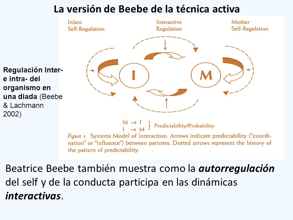 La versión de Beebe de la técnica activa
