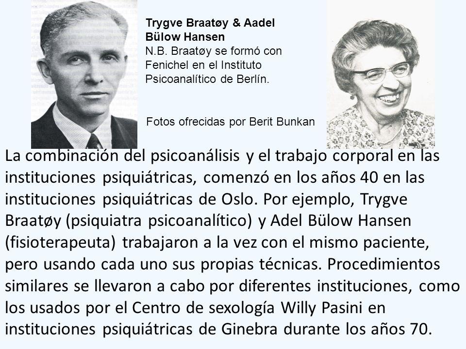 Trygve Braatøy & Aadel Bülow Hansen