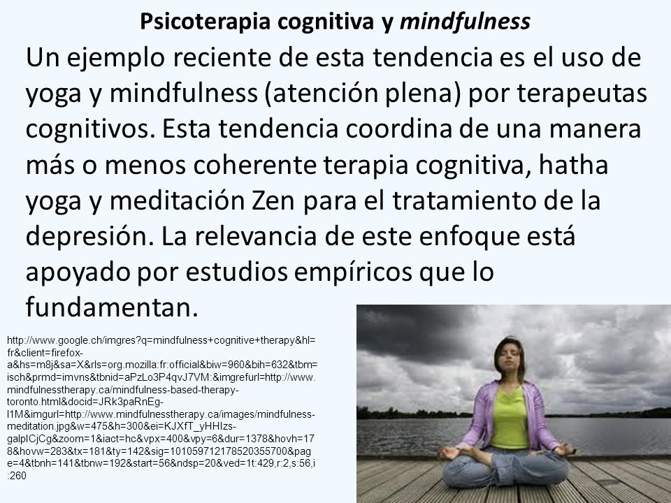 Psicoterapia cognitiva y mindfulness