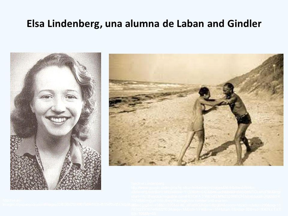 Elsa Lindenberg, una alumna de Laban and Gindler