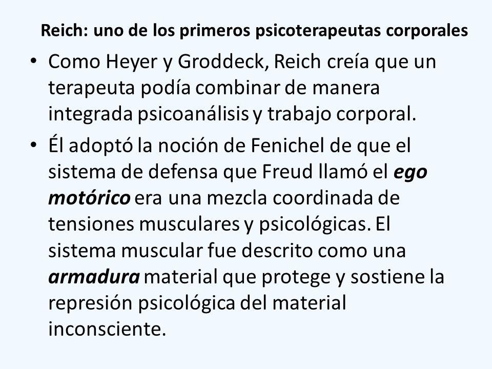 Reich: uno de los primeros psicoterapeutas corporales