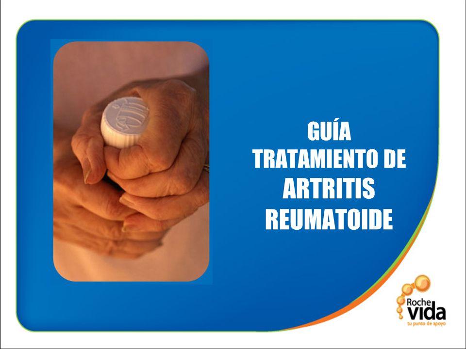 GUÍA TRATAMIENTO DE ARTRITIS REUMATOIDE