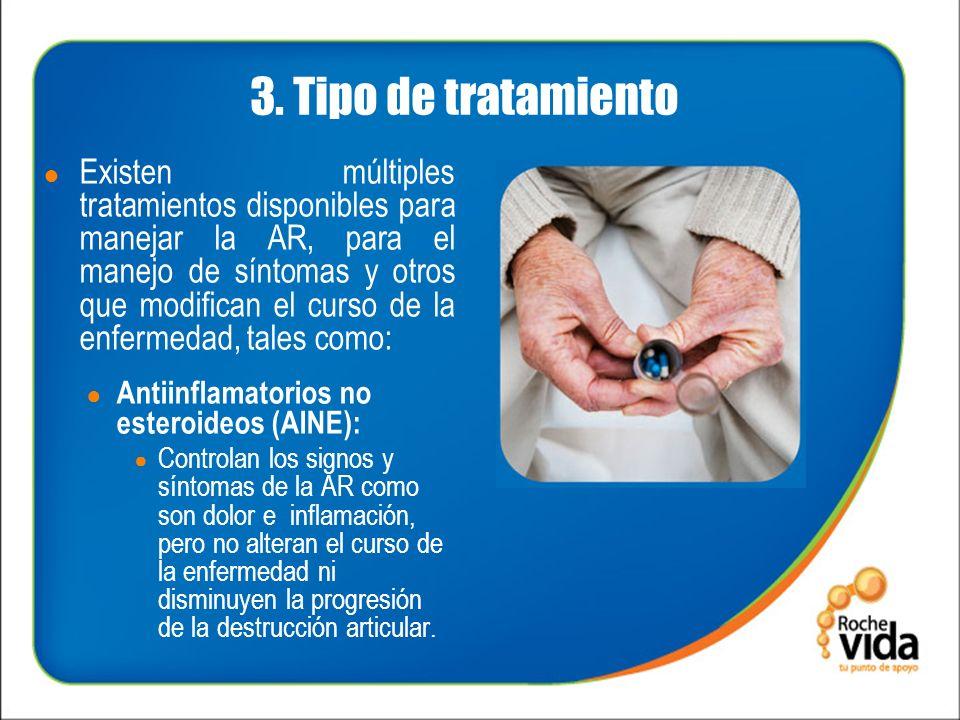 3. Tipo de tratamiento