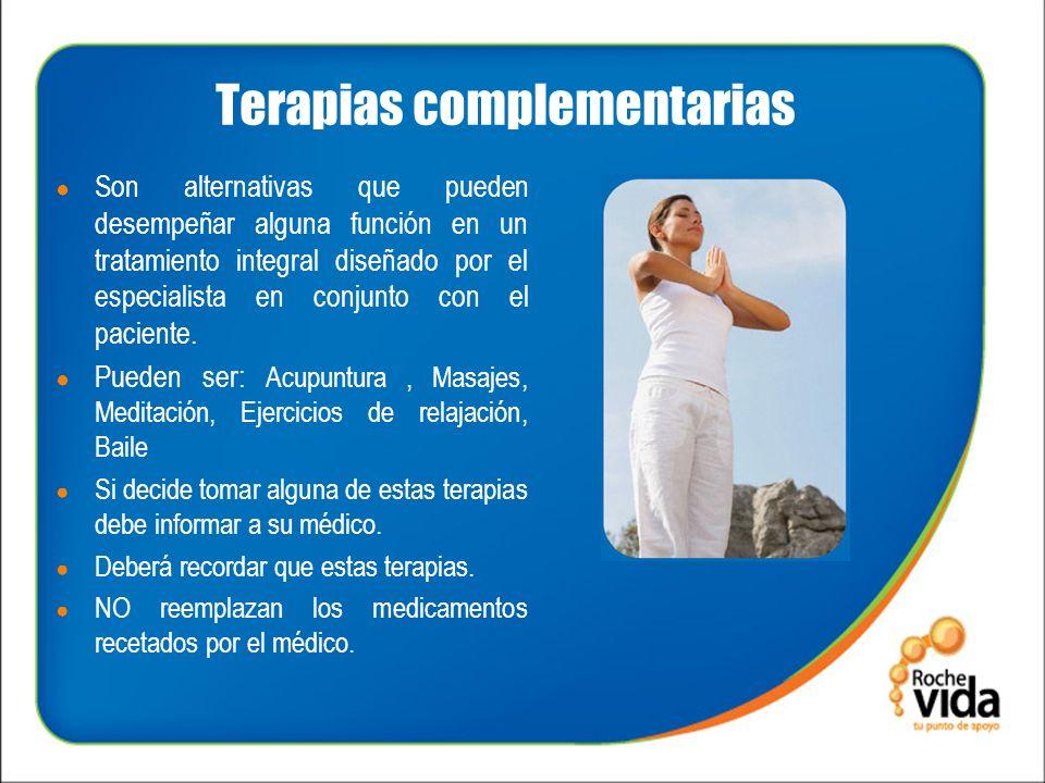 Terapias complementarias