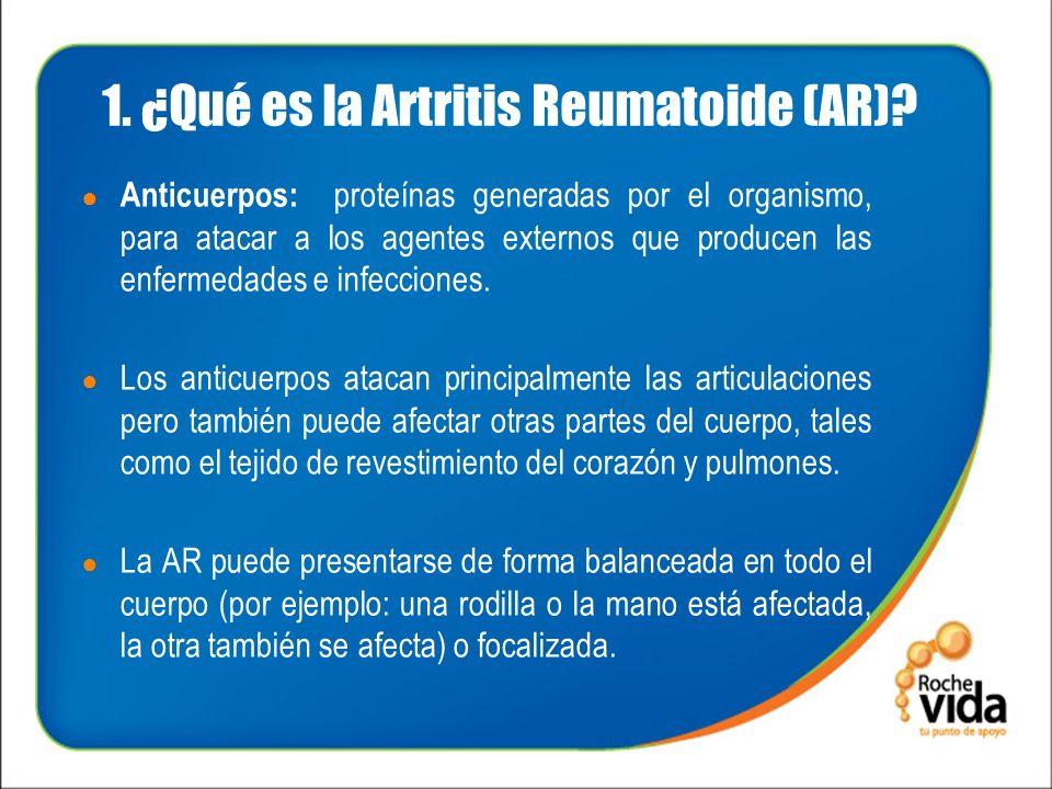 1. ¿Qué es la Artritis Reumatoide (AR)