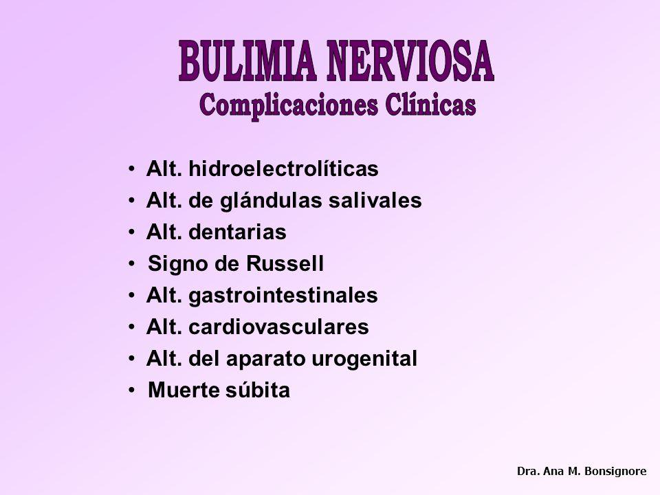 Complicaciones Clínicas