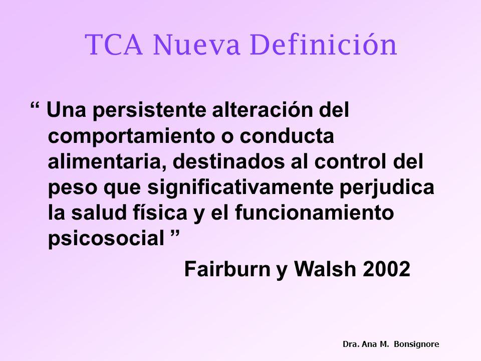 TCA Nueva Definición