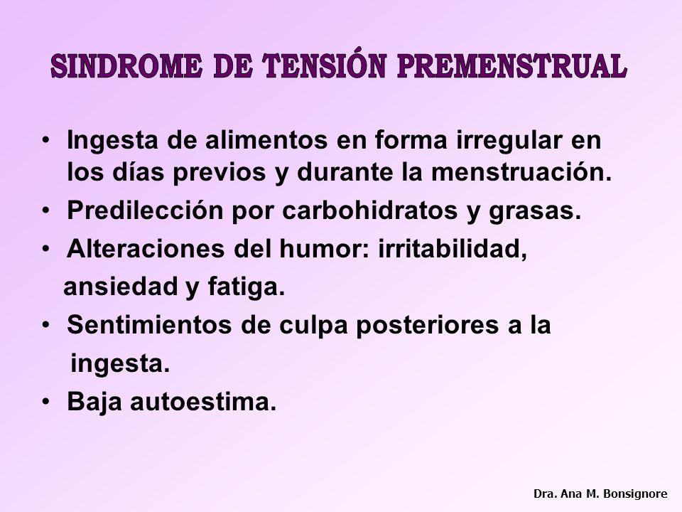 SINDROME DE TENSIÓN PREMENSTRUAL