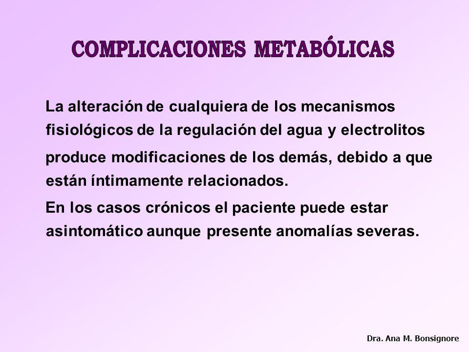 COMPLICACIONES METABÓLICAS