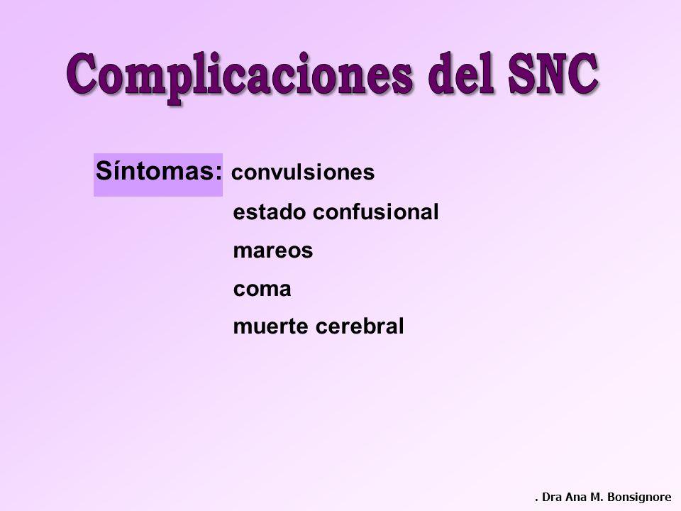 Complicaciones del SNC