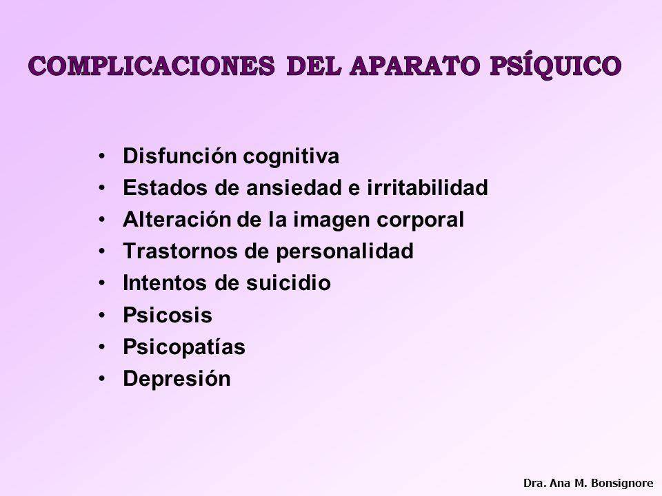 COMPLICACIONES DEL APARATO PSÍQUICO