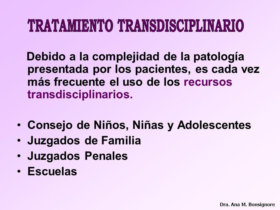 TRATAMIENTO TRANSDISCIPLINARIO