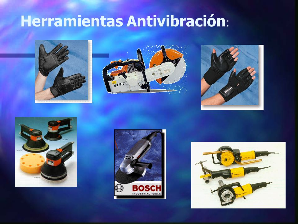 Herramientas Antivibración: