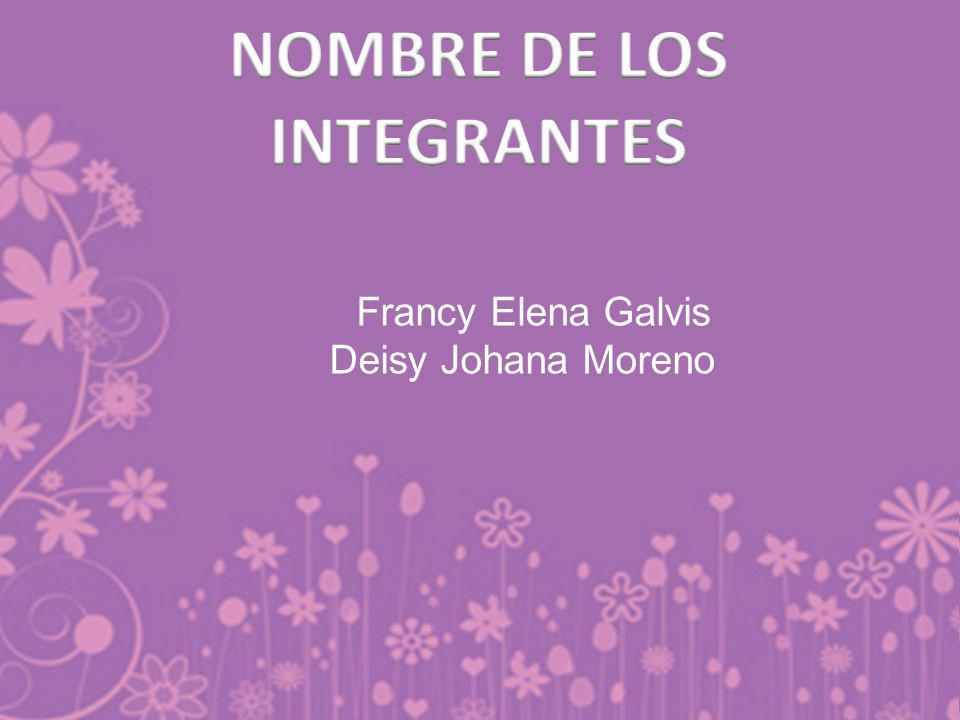 NOMBRE DE LOS INTEGRANTES