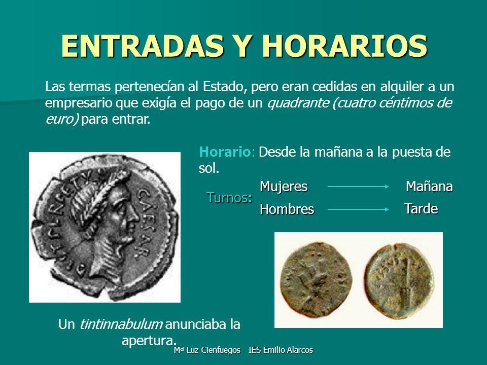 ENTRADAS Y HORARIOS