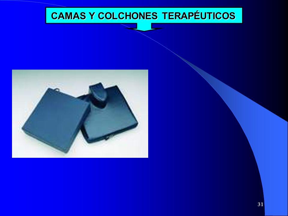 CAMAS Y COLCHONES TERAPÉUTICOS