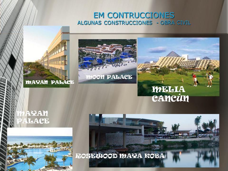 EM CONTRUCCIONES ALGUNAS CONSTRUCCIONES - OBRA CIVIL