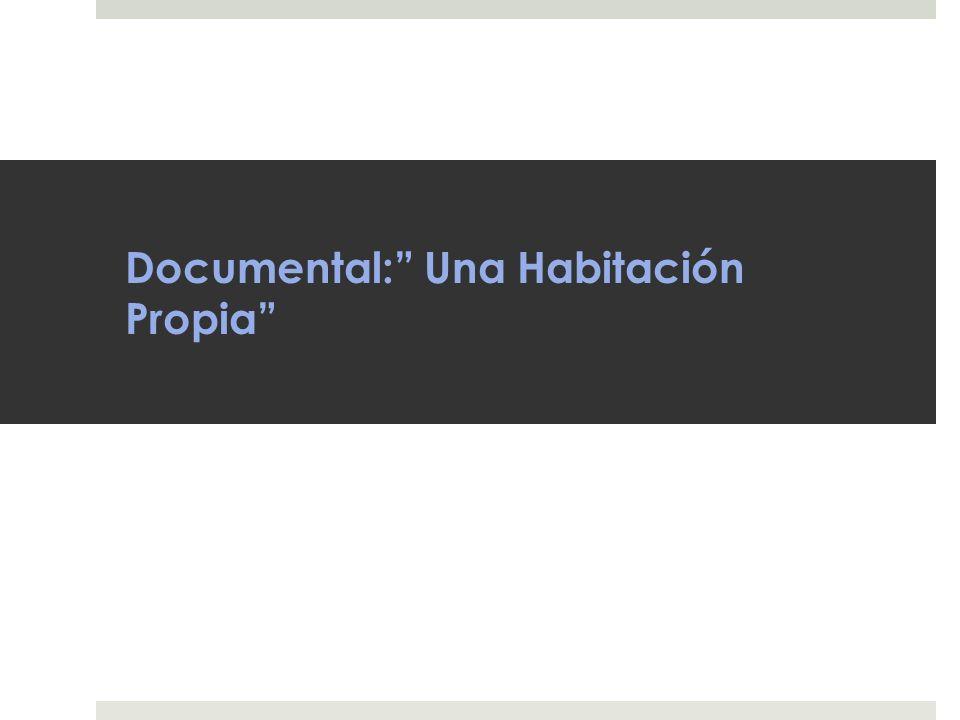 Documental: Una Habitación Propia